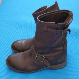 Vintage USA brown boots from brooks brothers 6.5